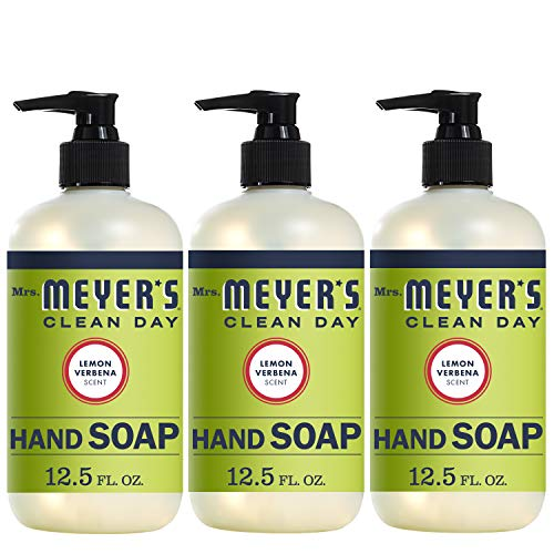 - Mrs. Meyer´s Clean Day Hand Soap, Lemon Verbena, 12.5 fl oz, 3 ct
