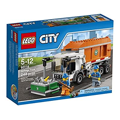 LEGO CITY Garbage Truck 60118: Toys & Games