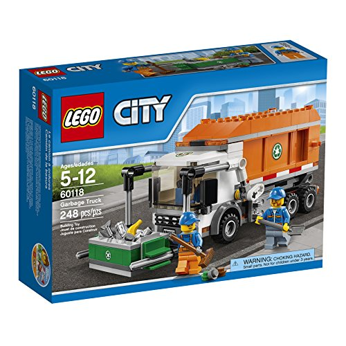 Super Hero Toys 5 Year Old Boys LEGO CITY Garbage Truck 60118 Lego Set