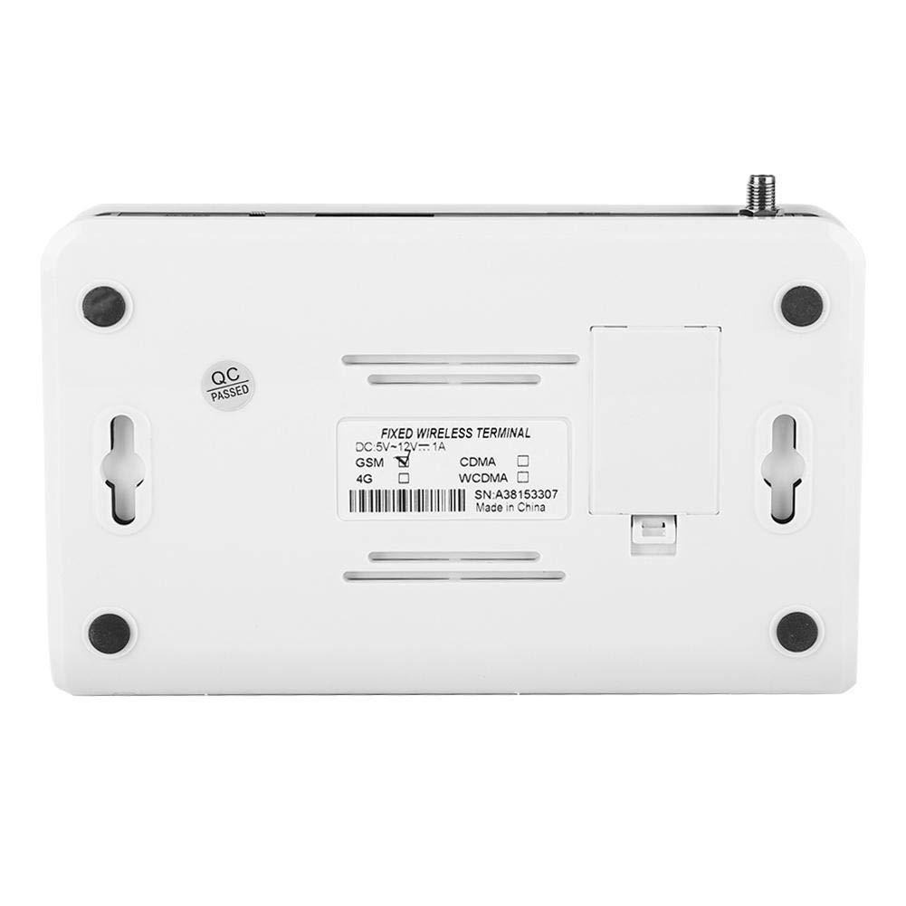 WirelessTerminal 1900MHz Alarma 100-240V para el hogar terminal inal/ámbrico fijo Quad-band GSM 850//900//1800 EU