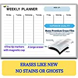 Magnetic Weekly Dry Erase Board Calendar for
