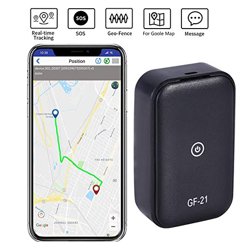 Car777 GPS Tracker 2019 Model GF21 PortableReal Time Tracking for Cars, Vehicles, Kids, Seniors, Valuables, Suitcases