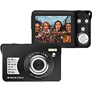 Best Epic Trends 51joc%2BBVjBL._SS300_ 30 MP Digital Camera,Support 128GB SD Card(Not Included), 2.7 Inch 1080P Digital Camera for Kids Teenagers Beginners
