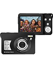 $34 » 30 MP Digital Camera,Support 128GB SD Card(Not Included), 2.7 Inch 1080P Digital Camera for Kids Teenagers Beginners