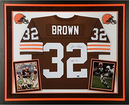 Jim Brown Cleveland Browns Framed - 9