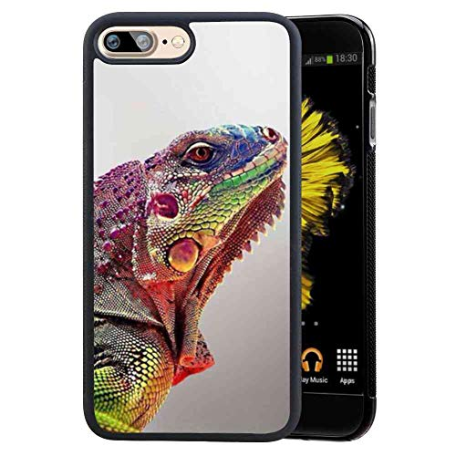 Cell Phone Case Compatible with iPhone 7 Plus (2016) & iPhone 8 Plus (2017) 5.5 Version Lizard