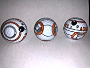 BB8 Golf Balls 3 Pack