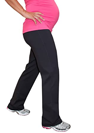 fc8e40efa7d86 Impact Fitness - Maternity Long Pant Brushed (Tall Inseam)-XX Small (Black