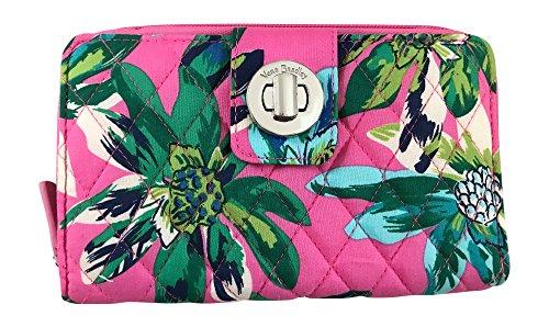 Vera Bradley Turnlock Wallet, Tropical Paradise