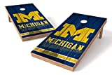 PROLINE NCAA 2' x 4' Michigan Wolverines Cornhole Board Set - Vintage Design
