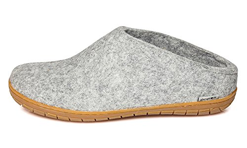 Glerups Women Rubber Slipper Grey
