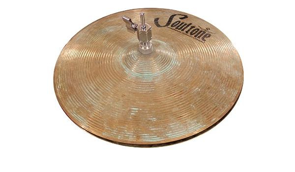 Soultone Cymbals VOSP-HHTB15-15 Vintage Old School Patina Hi Hat Bottom Only