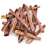 Best Pet Supplies 1-Pound Odor Free Plain Bully Sticks, 6-Inch