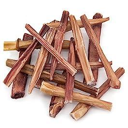 GigaBite 1-Pound Odor-Free Bully Sticks – USDA & FDA Certified All Natural, Free Range Beef Pizzle Dog Treat