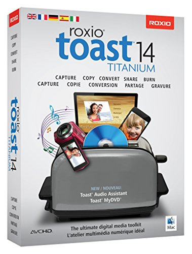 Roxio Toast Titanium Old Version product image