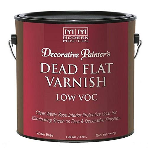 Modern Masters DP400- GAL Interior Dead Flat Varnish Low VOC Gallon