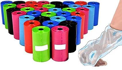 Pack de 300 bolsas para recoger las heces del perro (colores ...