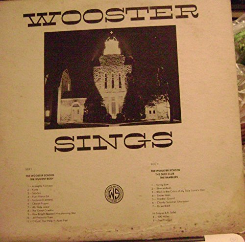 Wooster Sings  Dnbury Ct   Hat City Ramblers Lp  1963