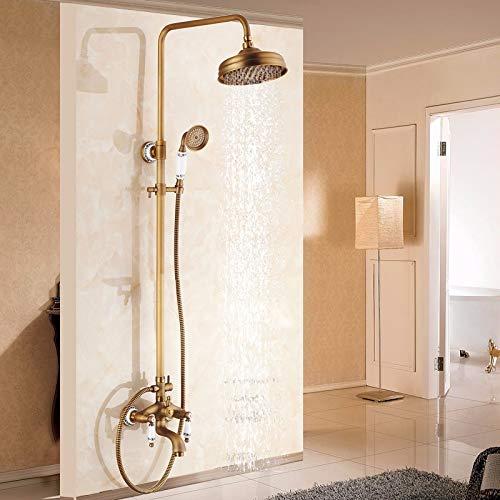 68 Antique Shower Hlluya Professional Sink Mixer Tap Kitchen Faucet Rain shower faucet bath 10 black
