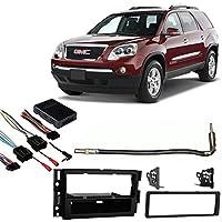 Fits GMC Acadia 07-12 Single DIN Aftermarket Harness Radio Install Dash Kit