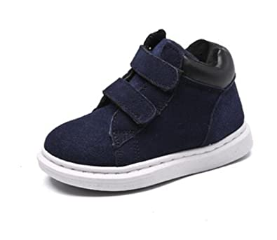 e9fd4d9e6cd72 Bumud Girls Boys Winter Sneaker Shoes Outdoor Fashion Warm Snow Boots with  Strap