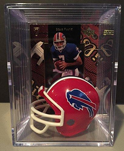 Buffalo Bills NFL Helmet Shadowbox w/ Doug Flutie ()