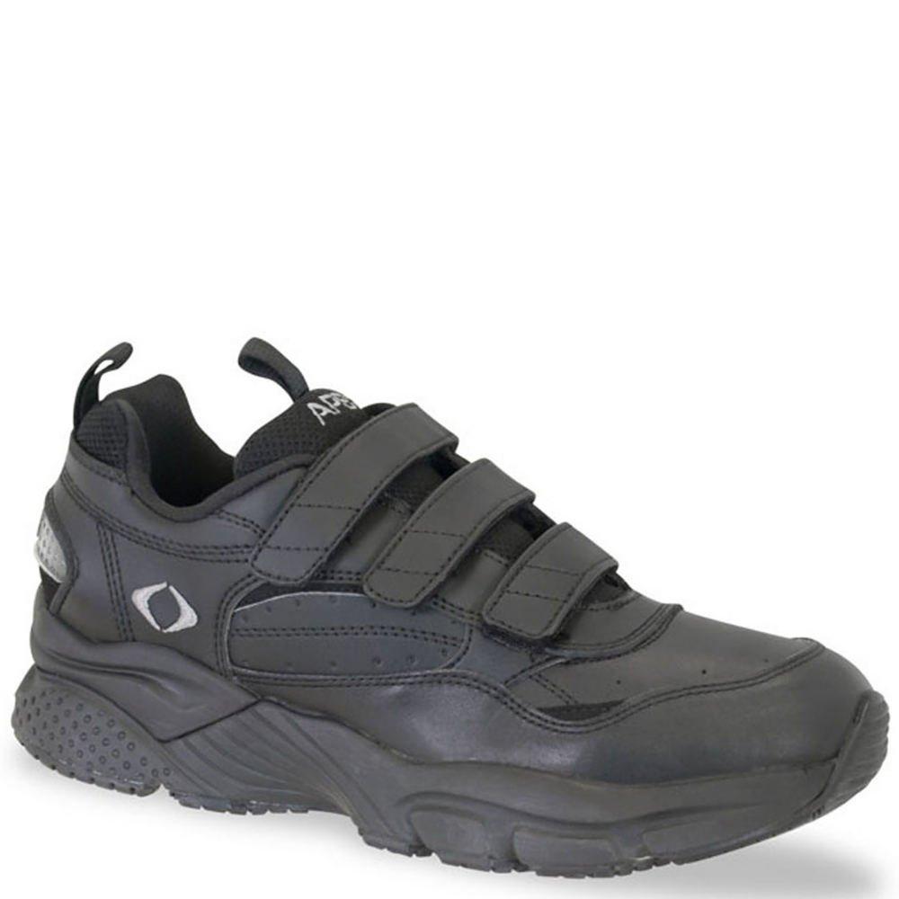 Aetrex Lenex Walking Shoe Mens 13 D(M) US Black-light Grey