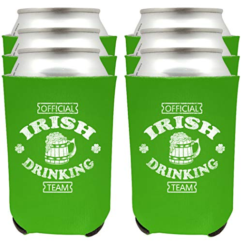 with St. Patrick's Day Koozies design
