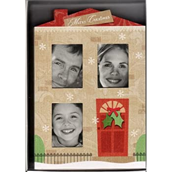4x6 Photo Insert Christmas Cards