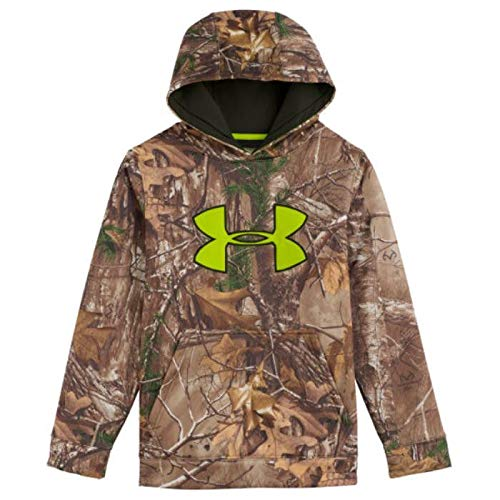 e63b3e566fc07 Amazon.com: Under Armour Youth Camo Scent Control ArmourFleece ...