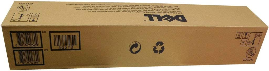 Dell 3GDT0 Black Toner Cartridge 7130cdn Color Laser Printer