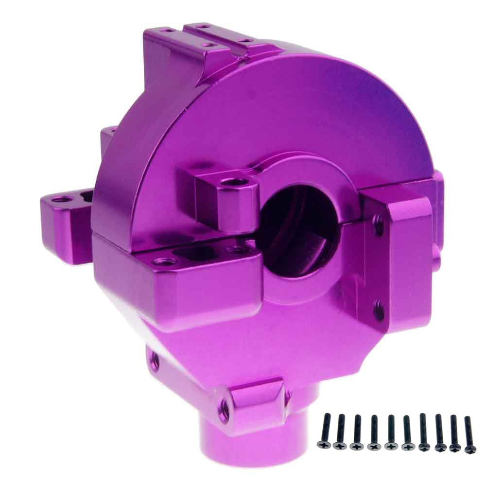 Toyoutdoorparts RC 102075(02051) Purple Aluminum Gear Box For HSP 1//10 On-Road Car Buggy Truck