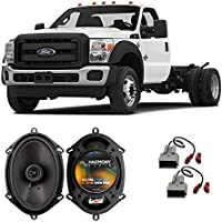 Fits Ford F-550 XL 2013-2016 Front Door Factory Replacement Harmony HA-R68 Speakers New