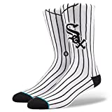 Stance Men's White Sox Home Socks White M