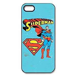 Attractive Vintage Superman Theme Back case for iPhone 5