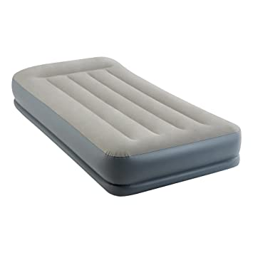 Intex 64116 - Colchón hinchable Dura-Beam Standard Pillow Rest Midrise 99 x 191 x 30 cm