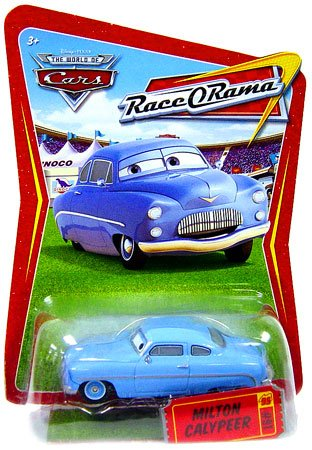 Race O-rama Series (Disney / Pixar CARS Movie 1:55 Die Cast Car Series 4 Race-O-Rama Milton Calypeer)