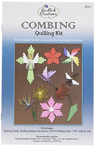 Quilled Creations Combing Quilling Kit by Quilled Creations