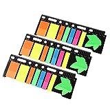 Verve Joy Office Products Translucent Sticky Note (Approx. 160 Sheets X 3 Packs)