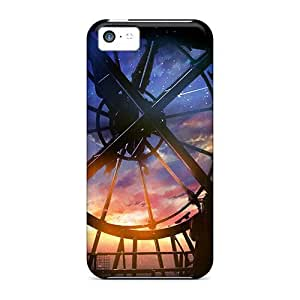 High Grade Cynthaskey Flexible Tpu Case For Iphone 5c - Timelapse