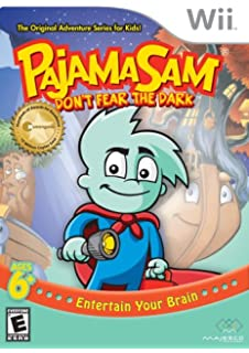 Pajama Sam in Dont Fear the Dark - Nintendo Wii