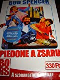 Piedone a Zsaru / Piedone Lo Sobirro / Region 2 PAL DVD / Has HUNGARIAN and ITALIAN sound options / Bud Spencer / 105 minutes full verison