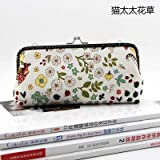 HATCHMATIC 19 * 8 * 2.5cm Handmade Handbag Purse Frame Pen Bag DIY Crafts Material Kit for Women Clutch Purse Frame Pouch Free shipping: design 9