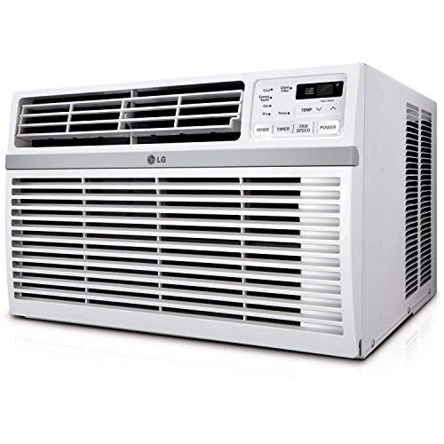 LG LW1016ER 10,000 BTU 115V Window-Mounted AIR Conditioner with Remote Control (10000 Btu Window Air Conditioner Room Size)