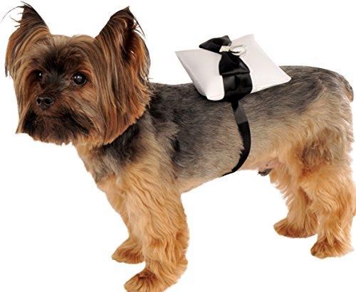 Rubie's Costume Ring Bearer Pillow Pet Costume, One Size (Ring Dog Wedding Pillow)