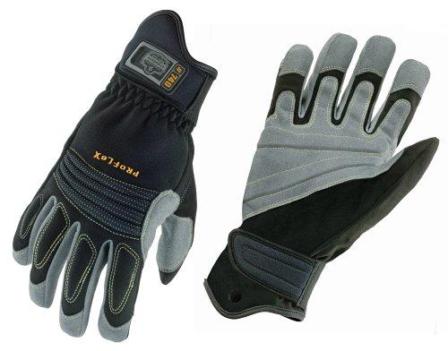 Ergodyne ProFlex 740 Fire & Rescue Rope Work Gloves, Medium by Ergodyne