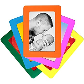 Amazon 6 Pack Magnetic Picture Frames For Refrigerator 4x6