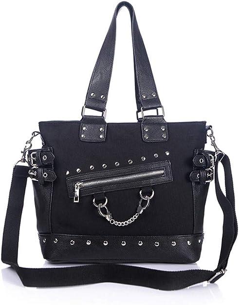 shoulder bag,Vinyl LP bag,Gothic,Punk,Art Tote Bag messenger bag