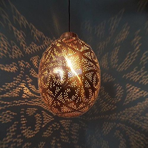 Moroccan Copper Pendant Light in US - 7