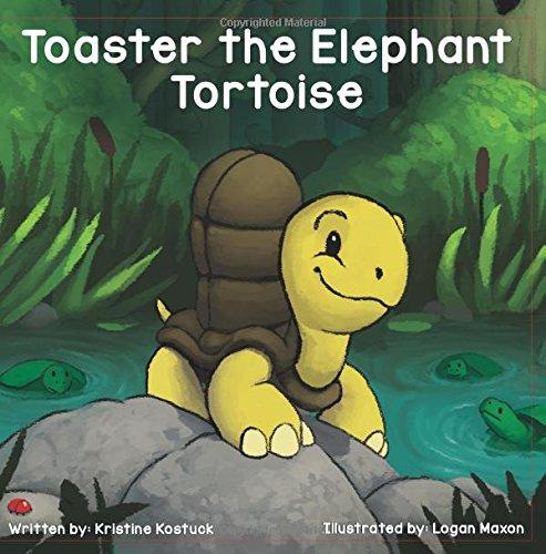 Toaster the Elephant Tortoise